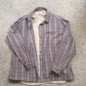 Women's XL Cabela's XL flannel/ long sleeve combo